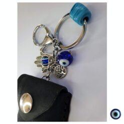 מחזיק מפתחות לגבר תהילים שחור 5