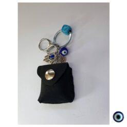 מחזיק מפתחות לגבר תהילים שחור 6