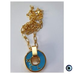 שרשרת gold vibes מטבע אלד קצר 1