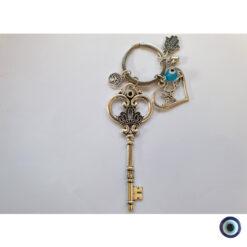 מחזיק מפתחות אהבה זה כל הסיפור עין טובה תכלת 1