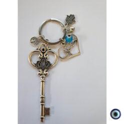 מחזיק מפתחות אהבה זה כל הסיפור עין טובה תכלת 3