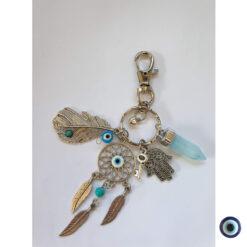 מחזיק מפתחות לוכד חלומות ומזל 3
